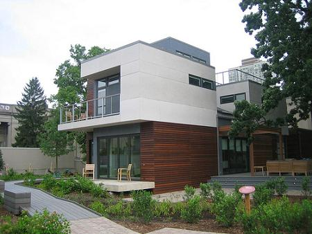 Home Modern Design on Green Modular Home Modern Design